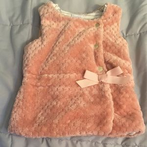 Tahari little girls vest